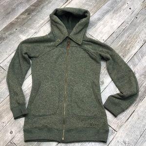 Burton Minx Natural Tech Fleece Hoodie Jacket S
